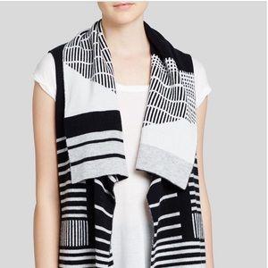 VINCE Cashmere & Wool Long Drape Vest